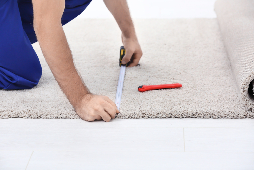 Choose us for carpet installation services